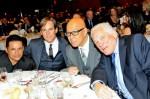 Raymond Cruz, Phillip P. Keene, Michael Paul Chan and GW Bailey attend the LAPD Twice a Citizen Banquet
