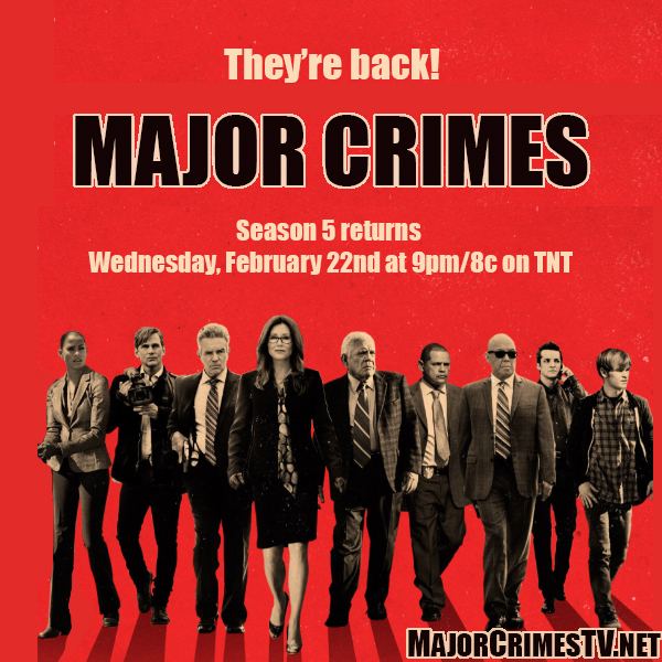 Major Crimes Returns For Winter Season On New Day And Time